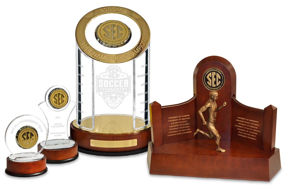 Southeastern Conference Custom Family of Awards